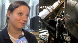 NJ train crash: Daycare worker describes going to victim's daughter after tragedy
