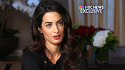 Amal Clooney takes ISIS to trial over human trafficking, genocide