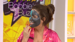Watch Bobbie Thomas remove her beauty mask… with a magnet!