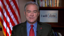 Tim Kaine: Donald Trump didn't answer basic questions in debate, was easily rattled