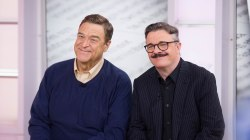 Nathan Lane, John Goodman co-star in 'Front Page' on Broadway