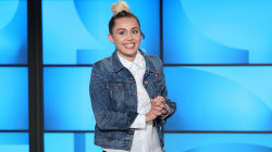 Watch Miley Cyrus fill in for Ellen DeGeneres on her show