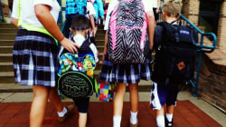 Is your child's backpack hazardous to their health?