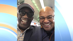 Al Roker runs into look-alike 'nemesis' Mike Tirico at O'Hare