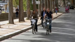 Paris Streets Transformed into Cyclists Paradise