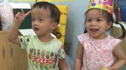 Little girl reuniting with best friend from orphanage will warm your heart