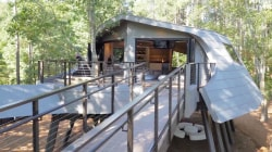 See Zac Brown's huge, otherworldly treehouse at Camp Southern Ground unveiled