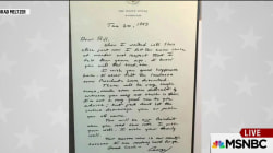 The note George H. W. Bush left Bill Clinton