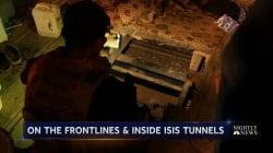 Inside Underground Bunkers Where ISIS Fighters Lived Before Running for Their Lives