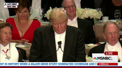Did Trump cross line at Smith dinner?
