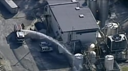 Chemical leak in Kansas sends dozens to the hospital