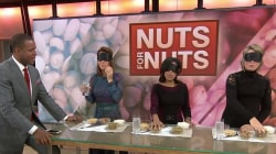 Happy National Nut Day! Watch blindfolded TODAY anchors celebrate with a taste test