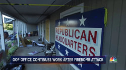 Firebombed North Carolina Office Charging Forward to Election Day