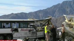 California Tour Bus Crash Kills More Than a Dozen