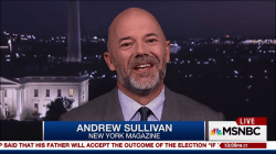 Andrew Sullivan on why he's now for Clinton