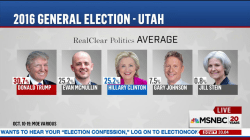 Independent candidate could take Utah