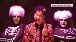 See why Tom Hanks' 'SNL' character David S. Pumpkins has us all obsessed