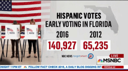 Latino voting numbers on the rise in Florida