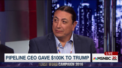 Trump's financial ties to Dakota Pipeline