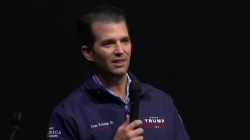 Trump Jr. takes to radio to defend father