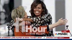 Michelle Obama campaigns with Hillary Clinton