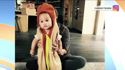 See how Chrissy Teigen and John Legend dressed up baby Luna for Halloween
