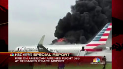 Special Report: Plane Catches Fire on Runway at O'Hare