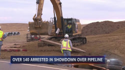 Construction Kicks Into High Gear as Protesters Grow Desperate to Stop Pipeline