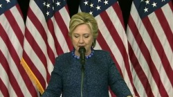 Clinton responds to new FBI email probe