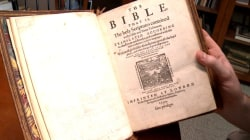 Student Finds 400-Year-Old Bible