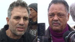 Mark Ruffalo, Jesse Jackson Among Celebs Supporting Pipeline Protest