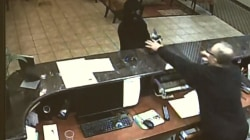 Caught On Camera: Clerk Turns Table on Robber