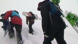 Oregon Snow Draws A Crowd