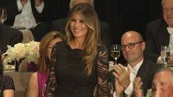 Trump Jokes About Melania's 'Exact Same' Speech as Michelle Obama