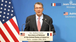 Carter on Battle in Mosul: 'Proceeding as Planned'