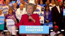 Clinton Says Trump's 'Final Target is Democracy Itself'