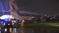 Pence Plane Skids off Runway; No Injuries Reported