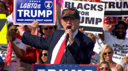 Donald Trump Gives Thumbs Up to 'Blacks For Trump'