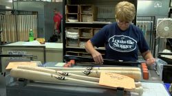 Louisville Slugger Hits Home Run With World Series Bats