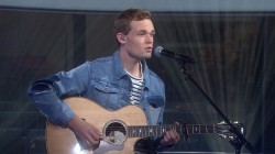 James TW sings 'When You Love Someone' on TODAY