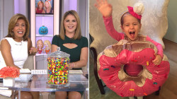 Jenna Bush Hager's daughter Mila is a doughnut for Halloween
