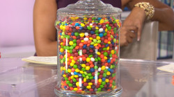 Can you guess how many Skittles are in this jar?