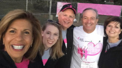 Hoda Kotb spent the weekend in New Orleans at Race for the Cure