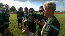 'Coach G' reflects on her football team's impact as they aim for a championship