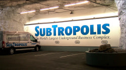 Go inside 'SubTropolis,' the underground city housing Hollywood treasures, 'cool' companies