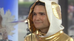 Corey Feldman returns to TODAY, defends viral 'Go 4 It' performance