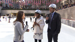 The rink is open! 80th Rockefeller Center skating season kicks off