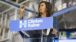How Hillary Clinton, Michelle Obama put aside past differences to tackle Trump