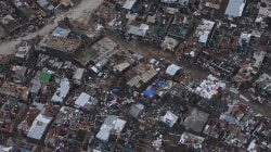 Bird's Eye View of Hurricane Damage in Haiti