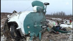 19 People Die in Helicopter Crash in Siberia